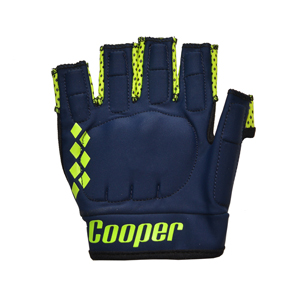 Hurling Gloves Navy/Yellow Kids L/H