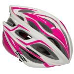Cycling Helmet Pink/White