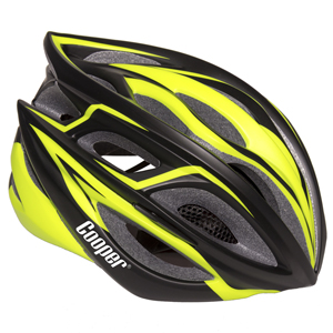 Cycling Helmet Matt Black/Neon Yellow