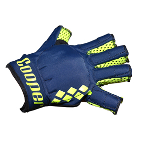 Hurling Gloves Navy/Yellow Kids R/H