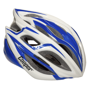 Cycling Helmet Blue/White